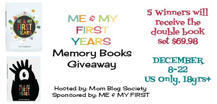 ME & MY FIRST YEARS 5 Winners. Each Winner receives Both Books