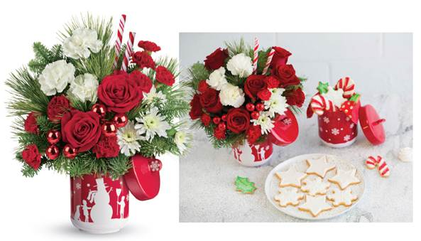 Teleflora Christmas 2019 Teleflora will send a Beautiful Bouquet in Time for the Holidays