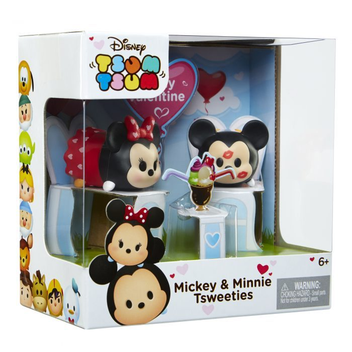 Disney Tsum Tsum Mickey Minnie Tsweeties Valentine's by JAKKS
