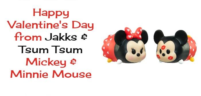 Disney Tsum Tsum Mickey Minnie Tsweeties Valentine's