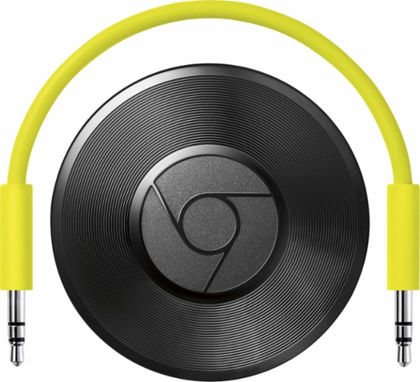 Try Chromecast Audio for Crystal Clear, Wireless Sound!