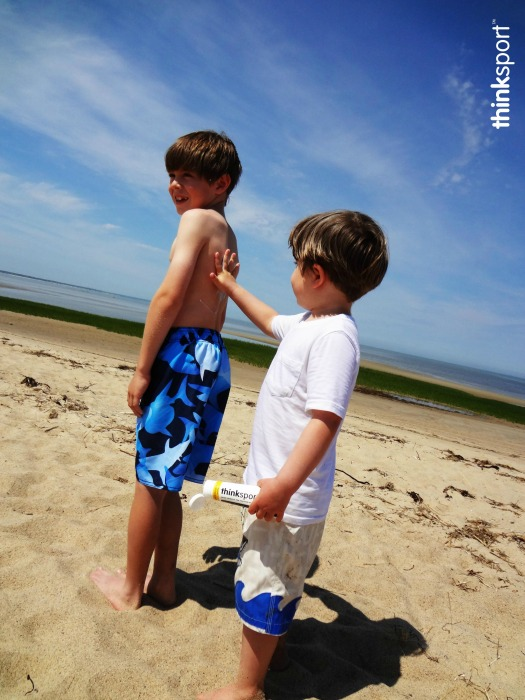 The Straight Goop On Sunscreen with GoThinkBaby