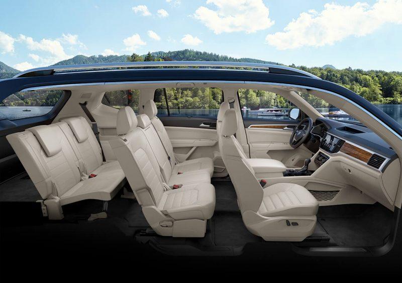 Meet the 2018 VW Atlas interior