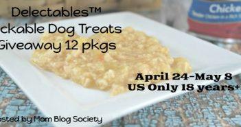Delectables Lickable Dog Treats Giveaway