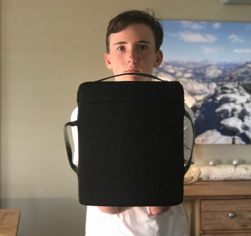 THE MILLENNIUM SHIELD The Backpack That Protects Your Child
