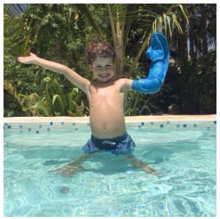Saving school holidays – Bloccs' waterproof cast and dressing protectors