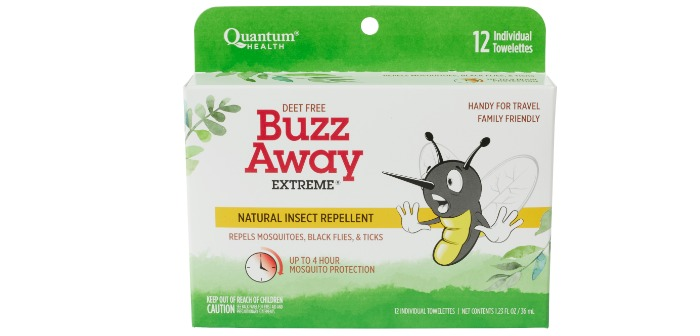 Get Summer Ready with Buzz Away Extreme and It is DEET-free
