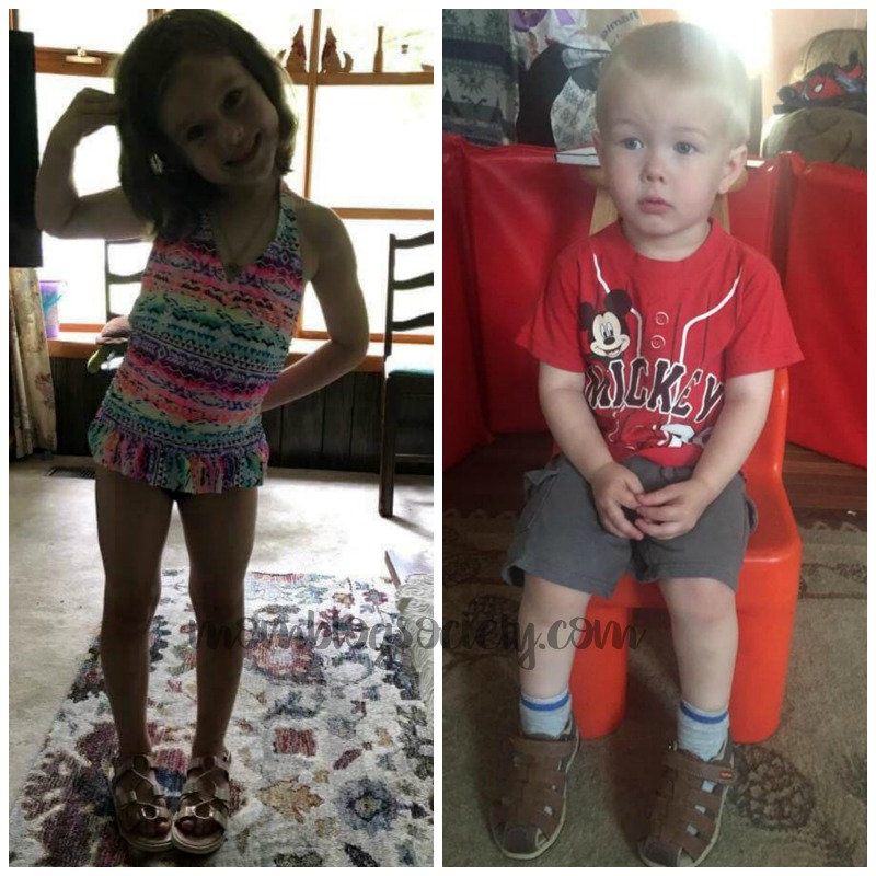 My Grandkids Love their Step & Stride Shoes