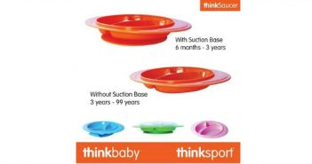 Thinkbaby Introduces the ThinkSaucer A Lasting Plate