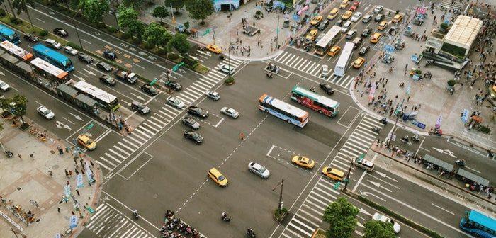 transportation in an urban city