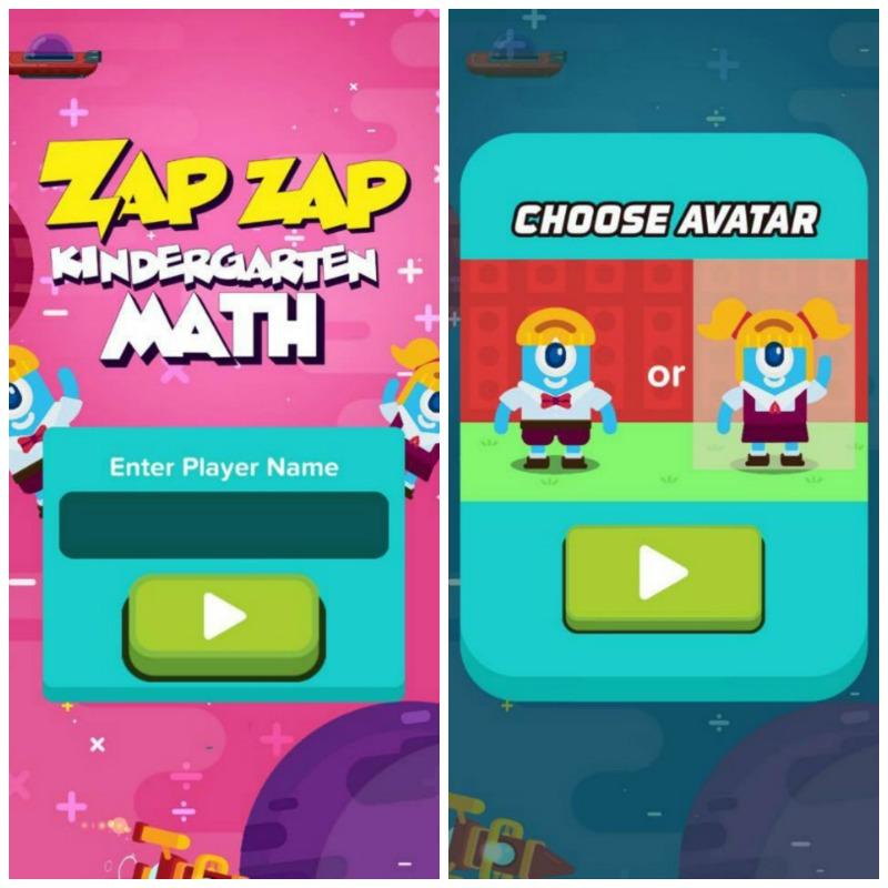 Zap Zap Kindergarten Math Get Them Ready for School with Fun!