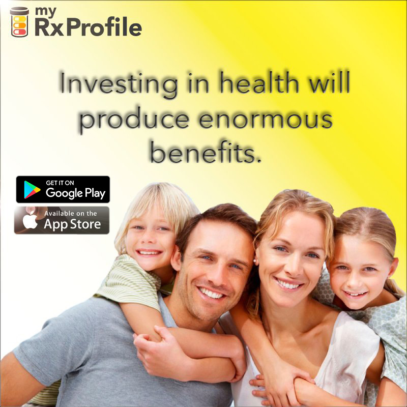 MyRxProfile – It Could Save Your Life®