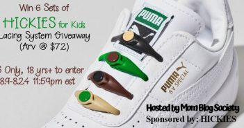 Win 6 Sets of HICKIES for Kids Lacing System Giveaway
