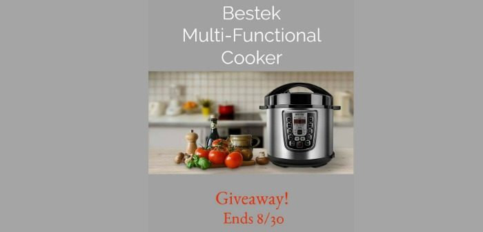 Bestek Multi Functional Cooker Giveaway