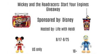 mickey and the roadracers giveaway