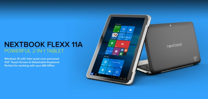What is Fun and Weighs Less than 3 Pounds? The Flexx 11A Tablet Is with Windows 10