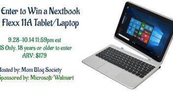 Win Your Own Nextbook Flexx 11A Tablet/Laptop (arv $179.00)