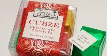 Chocolate Makes People Happy…Science Says So. The Happy Chocolatier Takes it up a Notch.