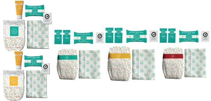 Poop Happens! When it Does Use this One Time Bamboo Natural Diaper Changing Set