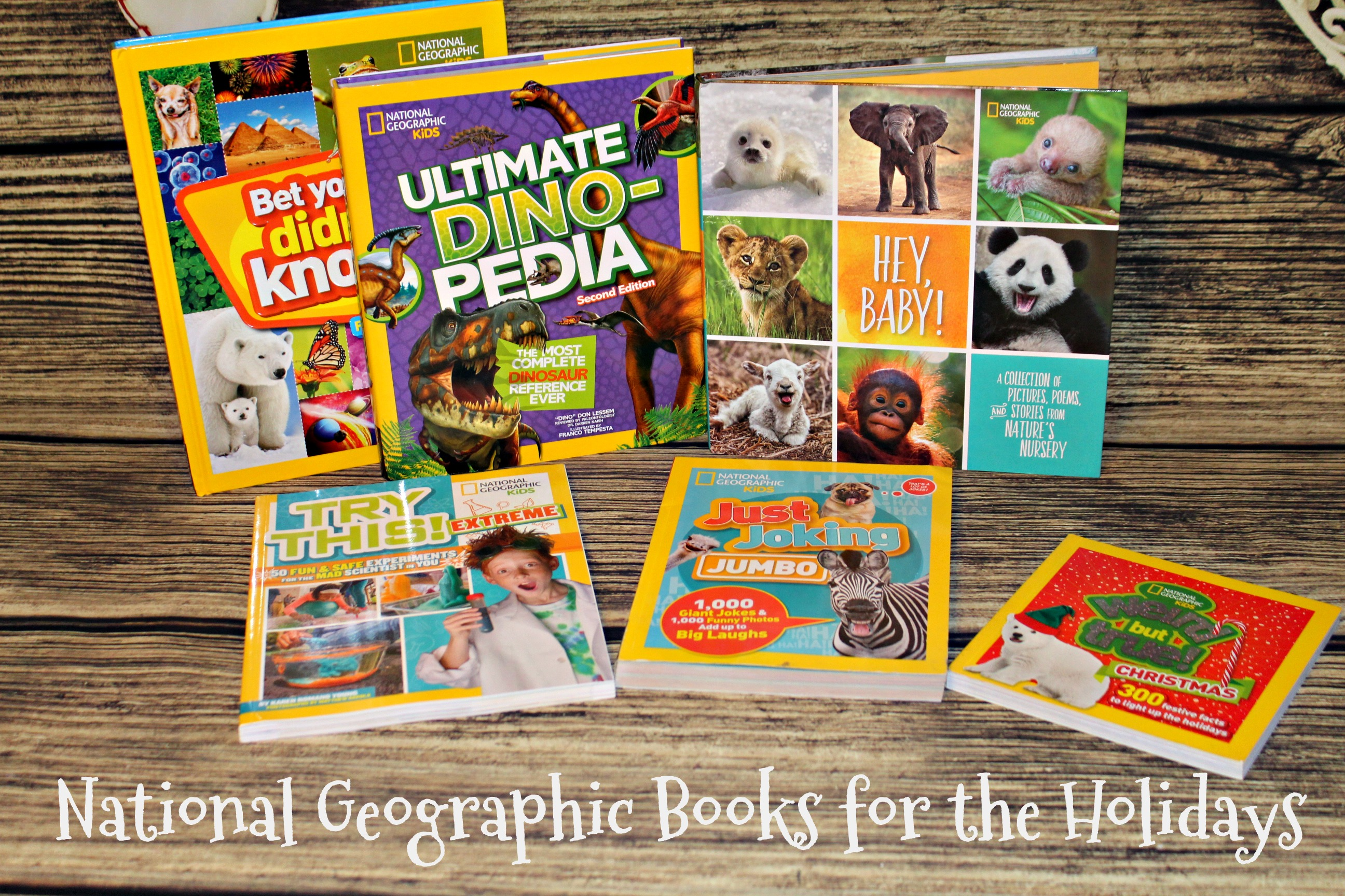 National Geographic Books for the holidays