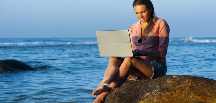 How To Work Remotely While Vacationing