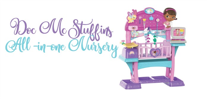 2017 Holiday Guide Featuring Doc McStuffins All  In One Nursery