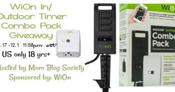 WiOn In/Outdoor Timer Combo Pack Giveaway (sale arv $50)
