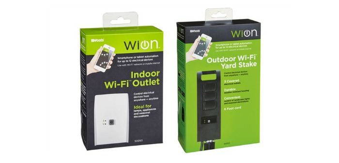 Keep The Lights on for the Holidays with WiOn In/Outdoor Timer Combo Pack