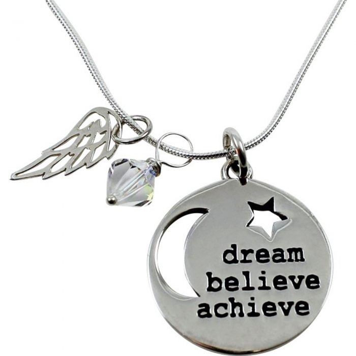 Inspired Endurance necklace dream believe achieve
