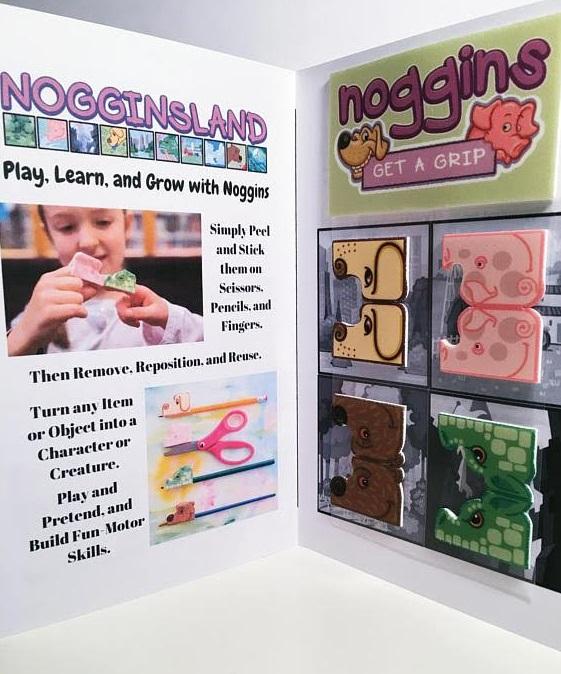 Escape to Nogginsland With Noggin Stickers