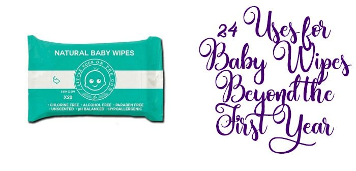 24 Uses for Baby Wipes
