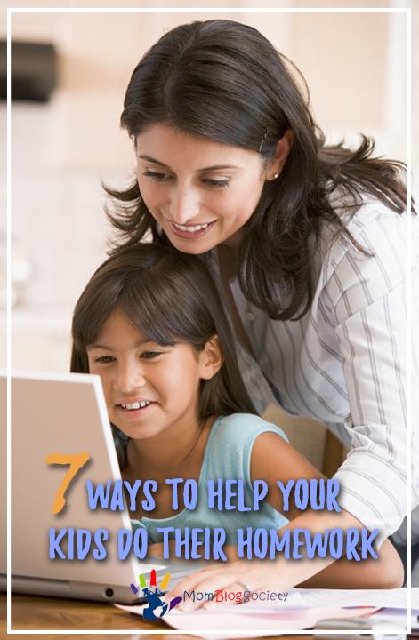 7 Ways To Help Your Kids Do Their Homework