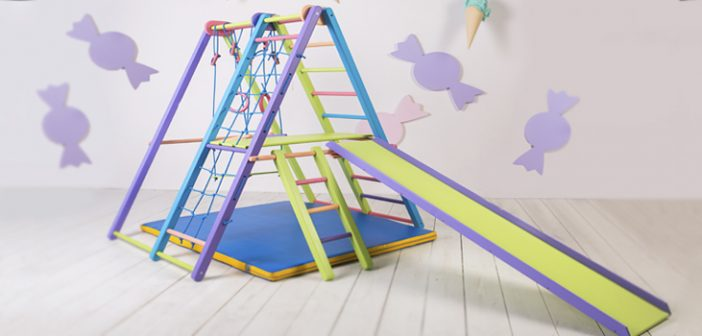 EZPlay Jungle Gym: Kids Indoor Playground For All Seasons