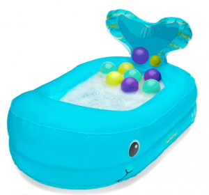 4fbc9efe333b 2019 Baby Shower Gift Guide. Inflatable Whale Bath Tub Infantino whale bath  tub