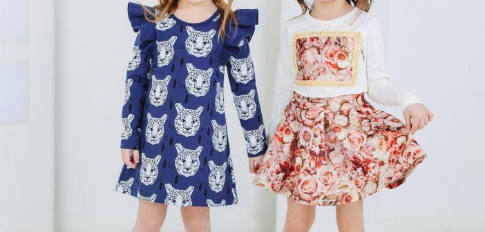 انتخاب لباس توسط کودکان